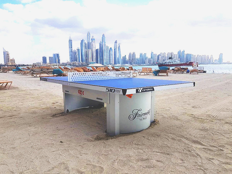 Tennis table - DUBAI - Fairmont Hotel