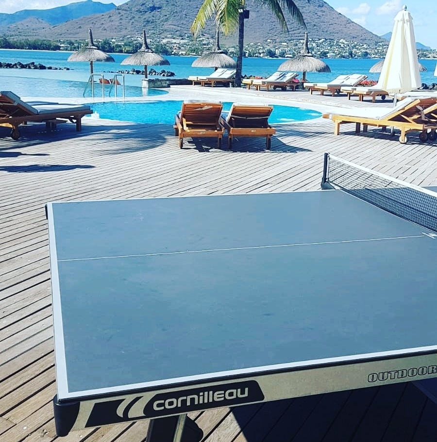 Table ping pong exterieure iles Maurice